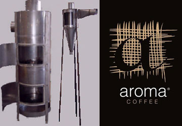 Aroma Coffee Dust Cyclone Collector