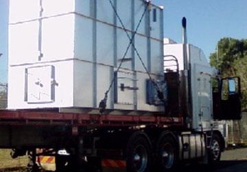 BlueScope Steel Refurbished Incinerator EnRoute