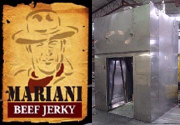 Mariani Foods Beef Jerky Dehydrator